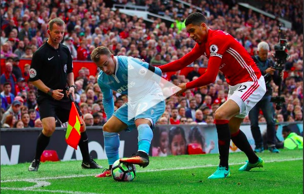 LFC fans love video of Shaqiri tying Chris Smalling in knots