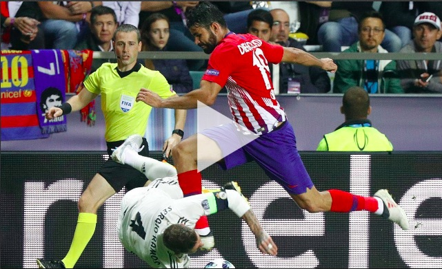 Diego Costa dribbled Sergio Ramos down the wing last night & LFC fans love it