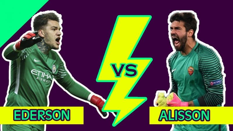 Ederson makes Alisson admission: 'He's one step ahead of me'