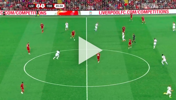 (Video) Jordan Henderson played one glorious long-pass last night that few noticed