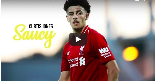(Video) Curtis Jones's pre-season best-bits are fire 🔥
