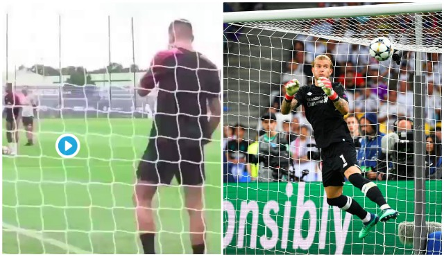 (Video) PSG players taught Meunier with 'Karius' jibes