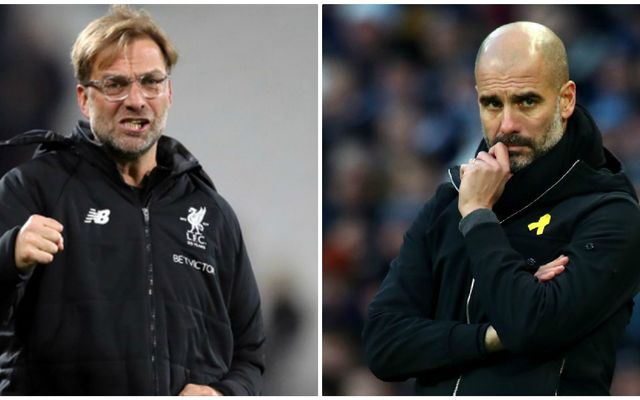 Guardiola pays three Liverpool players 'best in world' compliment