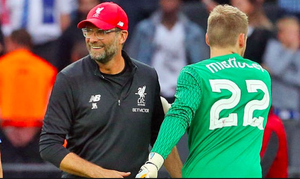 Klopp gives Mignolet a warning in press-conference…