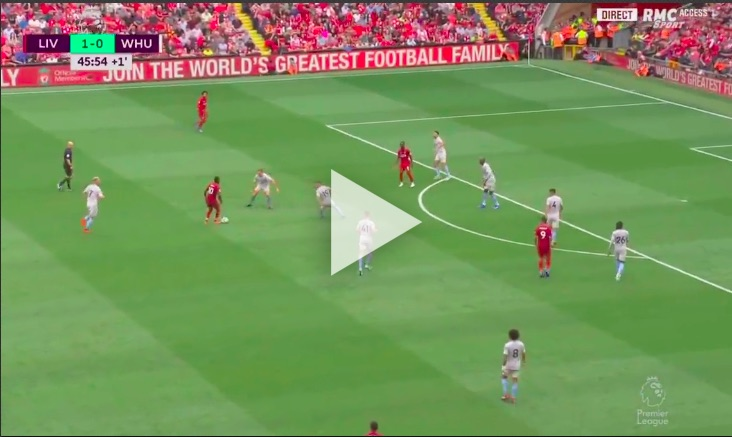 (Video) Mane bags and showcases new celebration after Milner provides superb assist