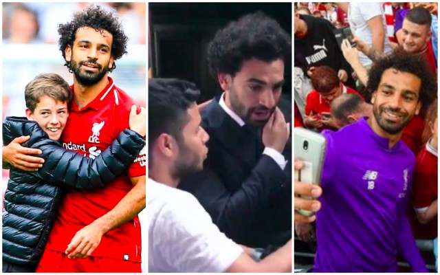 Salah just wanted his dinner… A frank reminder to LFC Fans; Let our stars be people, too