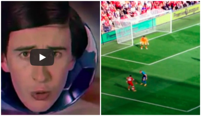 Alan Partridge commentating on Liverpool goals is the best thing you'll see today