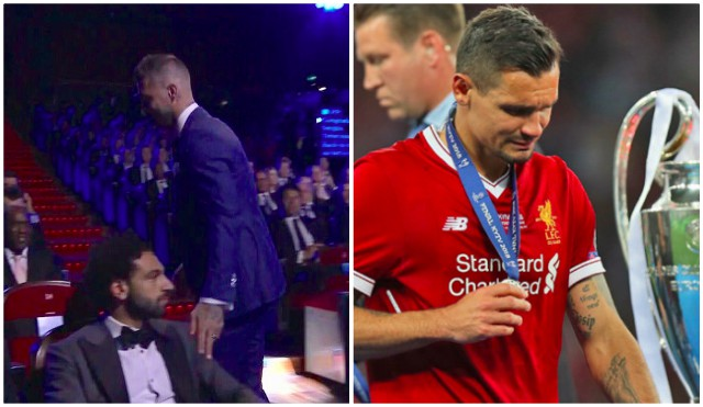 Lovren reacts to Sergio Ramos award on social media