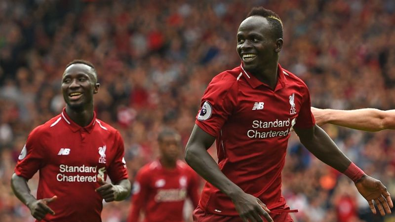 Brilliant: Sadio Mane's reaction to Real Madrid links proves he's red through and through