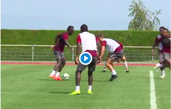 'Going to be a Monster…' LFC fans react to Sadio Mane killing it in training