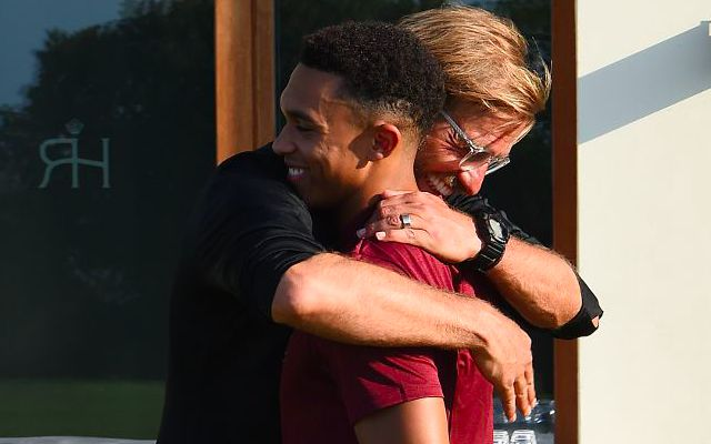 Klopp: what 'everybody' is telling me about Alexander-Arnold injury