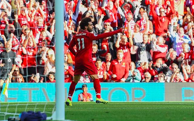 (Video) Mo Salah brings young Red to tears with superb gesture after Liverpool win