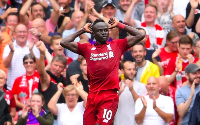 (Video) Sadio Mane puts Liverpool ahead with powerful header