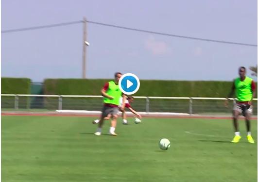 (Video) Shaqiri scoring delicious goals in training again