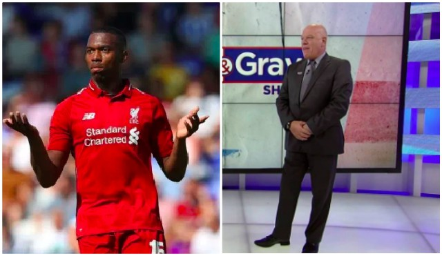 Andy Gray has savaged Sturridge & it's totally out of order