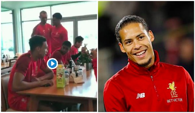 Watch Van Dijk wind up 'World's Best' Dejan Lovren for World Cup interview