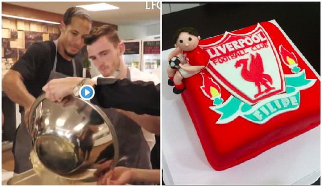 'Virgil doesn't know how to love' Hilarious clips emerge from LFC Bake-Off