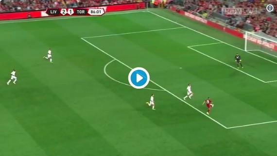 (Video) Shaqiri's stunning assist v Torino leaves Liverpool fans purring