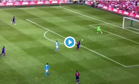 (Video) Alisson finds Mo Salah with cross-field ball Xabi Alonso would be proud of