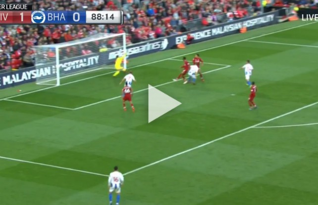 (Video) Alisson sends Liverpool top of the league with late wonder-save