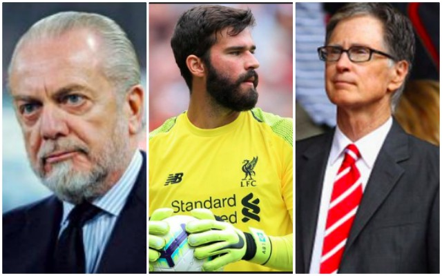 Napoli chairman has weird Roma/Liverpool conspiracy theory