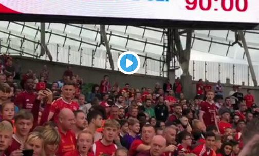 (Video) Liverpool new-boys meet adoring fans after thrashing Napoli