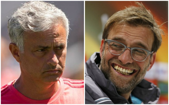 Mourinho fires shots at Klopp during his defence of Marcus Rashford