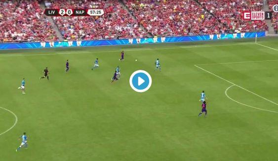 (Video) Shaqiri involved as Salah scores emphatic third against Napoli
