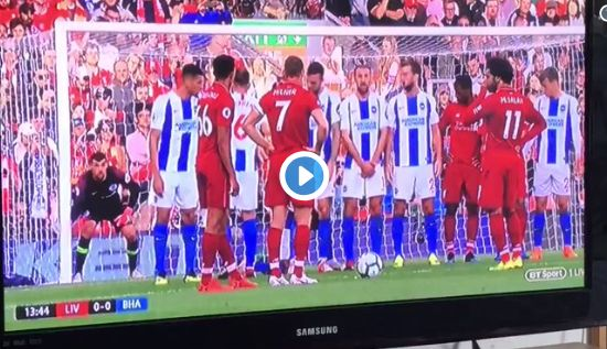 (Video) Trent nearly scores an absolute worldie