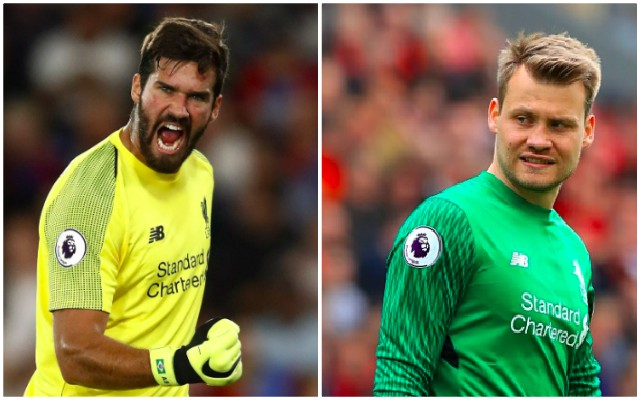 Mignolet suggests Alisson is Liverpool's best keeper