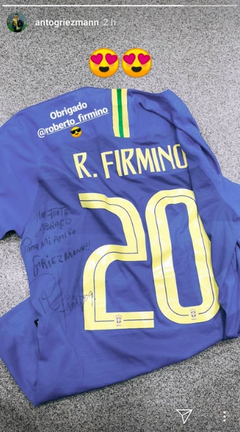Griezmann, Firmino