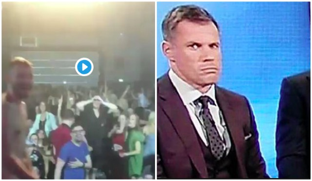 (Video) Carra's jaw drops at naked Bingo man