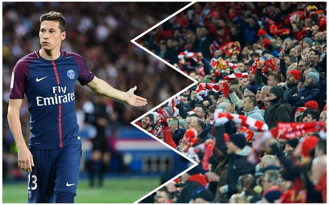 Julian Draxler makes hilarious claim about Liverpool after PSG loss