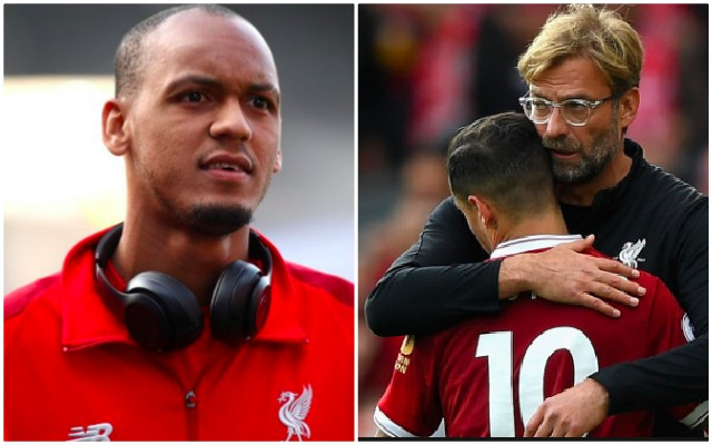 Klopp uses Coutinho tactical analogy to explain why Fabinho may not be 1st-team for six months