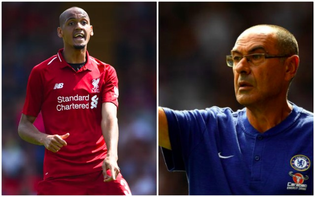 Fabinho boldly criticises Chelsea boss Sarri for summer decision