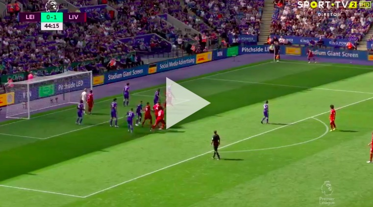 (Video) Firmino scores superb header v Leicester