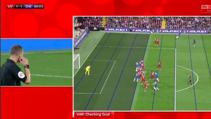 Shocking: VAR actually misses offside that costs Liverpool game