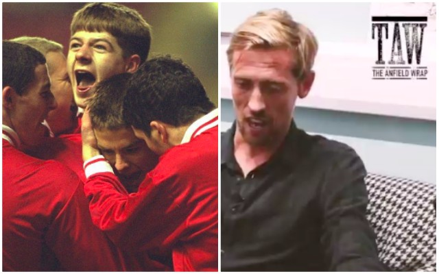 Crouch's story about how good 17-year-old Gerrard was