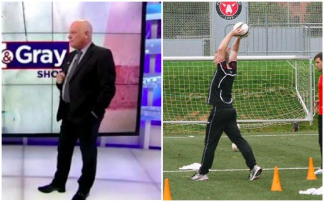 Gronnemark destroys Andy Gray with brilliant comments