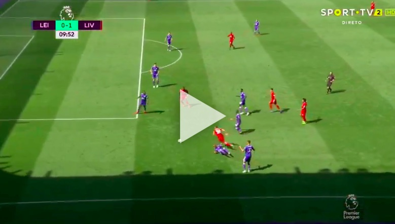 (Video) Robertson produces mad assist for Sadio Mane goal