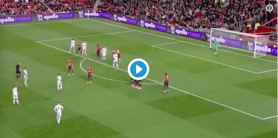 (Video) Harry Wilson's freekick screamer v United breaks the internet