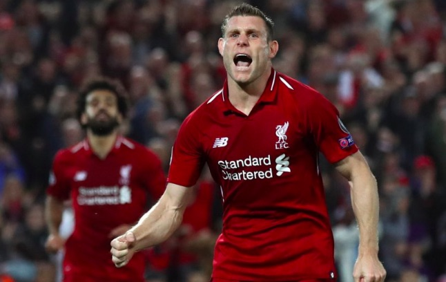 Milner's heatmap v PSG proves 32-year-old is a freak
