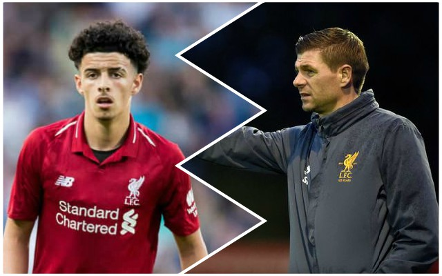 Carra names 17-year-old Gerrard immediately picked out when managing LFC's under-18s