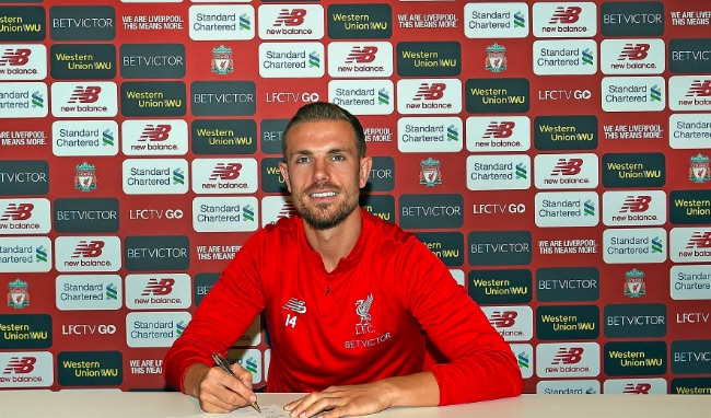 LFC were forced to extend Hendo's contract due to City interest