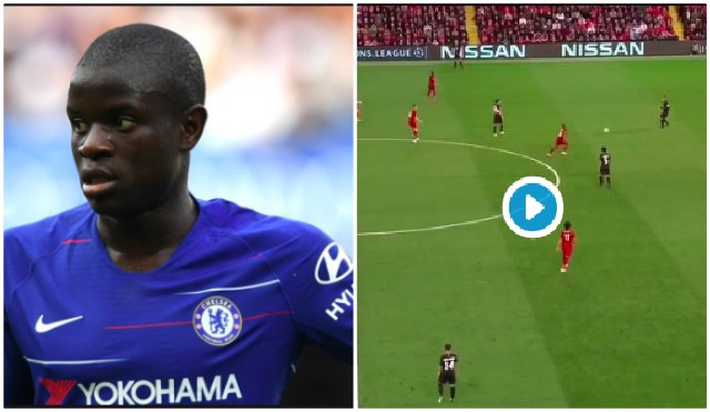 (Video) If Kante did this, everyone would be talking about it…