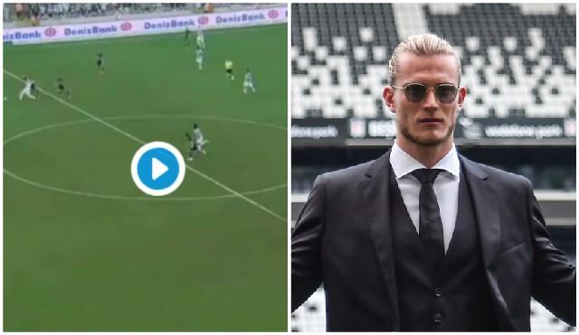 (Video) Karius makes great save, but at fault for goal on Besiktas debut