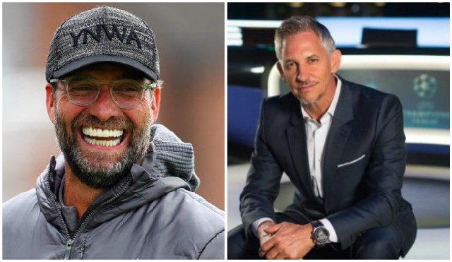 Gary Lineker's tweet about Liverpool and Leicester from early December aged very badly…