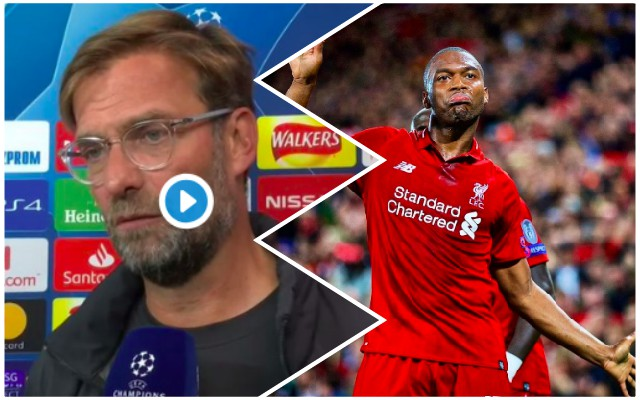 Klopp waxes lyrical on Sturridge & makes big statement
