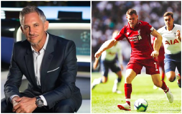Lineker apologises to Milner on Twitter after Spurs MOTM
