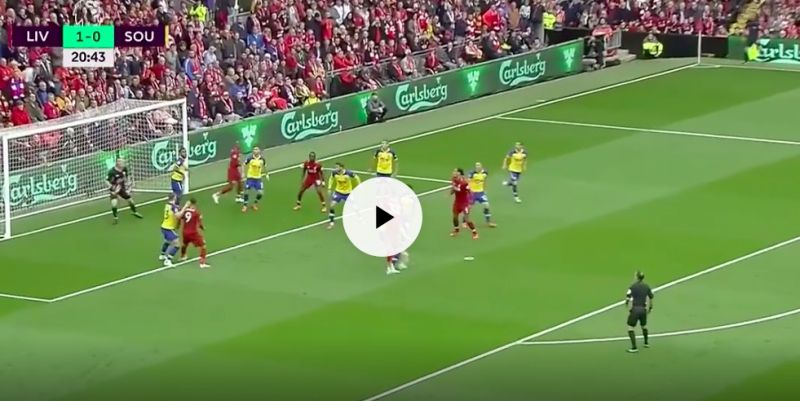 Matip's silences doubters with great header v Southampton
